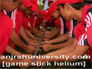 Game outbond leadership stress menejemen kekompakan tim endurance gambar