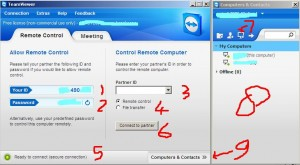 teamviewer cara menggunakannya tutorial remote computer