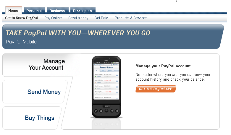 android issue paypall mobile payment for android iphone blackberry