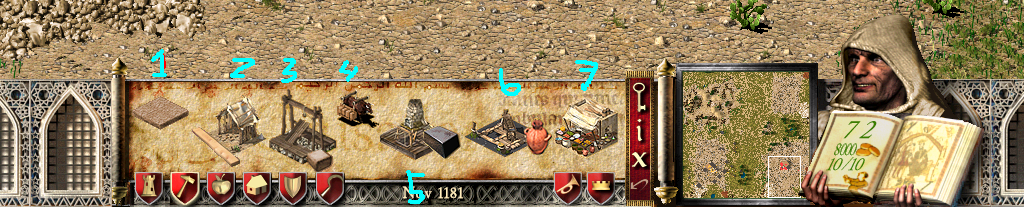 rahasia stronghold crusader game awal bermain gambar